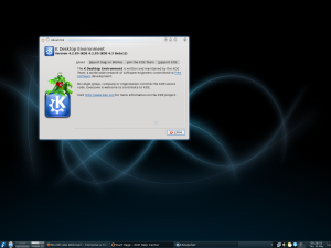 Fedora 11 with KDE 4.2.85